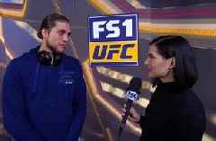 Brian Ortega talks with Megan Olivi about his fight strategy | WEIGH-INS | UFC 231