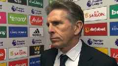 Leicester 0-2 Tottenham: Lack of clinical edge cost Foxes - Claude Puel
