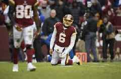 Skins' Gruden after NY loss: 'Job's in jeopardy every week'