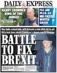 Brexit: Theresa May keeps her powder dry as drips and storm clouds gather