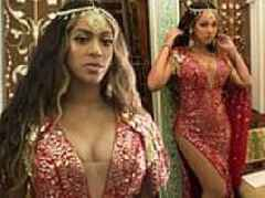Beyonce flaunts cleavage in Abu Jani Sandeep Khosla gown before performing at Indian wedding