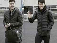 Tottenham jet to Spain ahead of Champions League clash with Barcelona