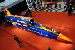 The Bloodhound SSC 'rocket on wheels' is out of funding and almost out of time