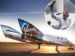 Virgin Galactic could send its tourist rocket to space THIS WEEK