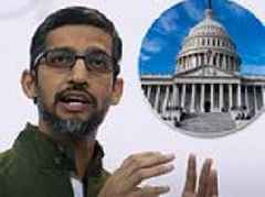 Google CEO to be quizzed by Congress for first time amid mounting questions over privacy