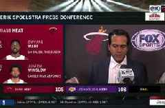Erik Spoelstra on loss to Lakers, Dwyane Wade's and LeBron James' last on-court meeting