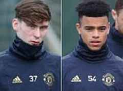Mason Greenwood and James Garner: Man United's new kids on the block