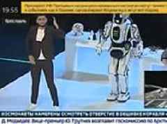 'Hi-tech robot' called Boris shown dancing on Russian state television has been ridiculed