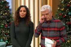 Phillip Schofield close to tears as he reveals tragic This Morning death