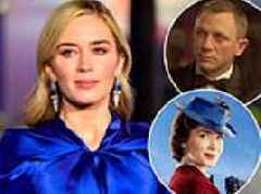 Emily Blunt thought she was being asked to play JAMES BOND when she got the call for Mary Poppins
