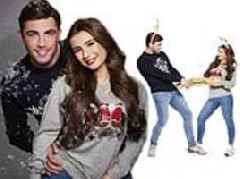 Love Island's Dani Dyer and Jack Fincham put on a loved-up display in Christmas jumper campaign