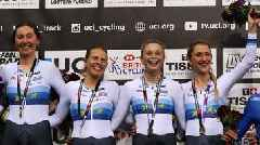Track Cycling World Cup: Great Britain's women beat world champions USA in team pursuit