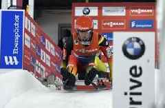 Germany sweeps medals in women's World Cup luge race