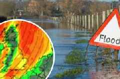 Met Office: Hour by hour weather forecast for major towns as Somerset hit by torrential rain