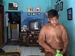 Boy who weighed 30 STONE when he was ten, shed nearly half his body weight in two years