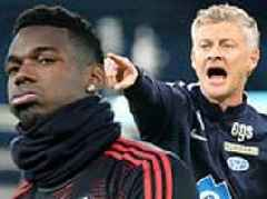 Ole Gunnar Solskjaer admitted he would build Manchester United around Paul Pogba