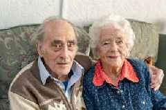 Couple married for 80 years 'knew it was love when he offered her a sweet'