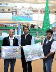 LEGO® Unveils their Grandest Event 'Train Style Christmas' at Seawoods Grand Central Mall in India this December
