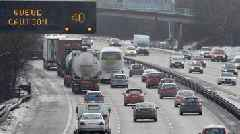 Wales' roads at their busiest for Christmas traffic