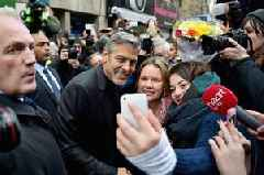 George Clooney and Amal set to return to Edinburgh for charity award