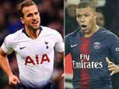 Kylian Mbappe pips Harry Kane to the title of world's most valuable player at £196million