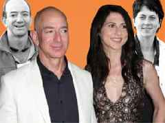 MacKenzie Bezos has been part of Amazon lore since before the company began, driving across the US with her husband Jeff as he wrote out his business plan in 1994 (AMZN)