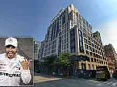Formula One Racing Champ Lewis Hamilton snaps up Manhattan penthouse
