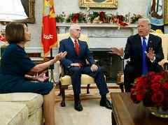 SHUTDOWN STANDSTILL: The government shutdown enters a record 22nd day as Trump, Democrats continue to battle over the border wall and 800,000 workers go without pay
