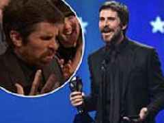 Christian Bale's British accent continues to baffles fans at Critics' Choice Awards
