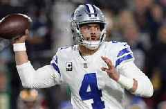 Shannon Sharpe gives Dak Prescott a C- grade for performance in the Cowboys' playoff loss vs LA Rams