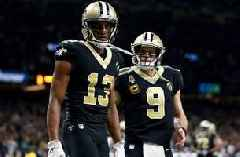 Drew Brees' 2-yard touchdown to Michael Thomas puts Saints up for good