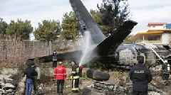 Iran plane crash: 'At least seven dead' near Tehran