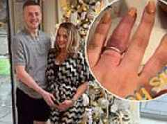 England keeper Jordan Pickford's pregnant fiancée has engagement ring cut off