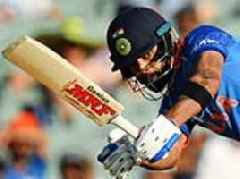 Virat Kohli leads India to one-day win over Australia with swashbuckling century