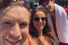Andy Murray superfan watches hero's Australian Open swansong on honeymoon