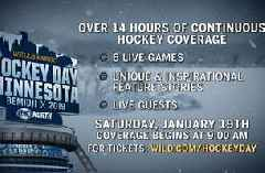FOX Sports North announces comprehensive coverage for 13th annual Hockey Day Minnesota