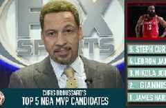 James Harden is the NBA MVP (so far) | CHRIS BROUSSARD'S TOP 5