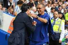 What Unai Emery has said about Chelsea and Maurizio Sarri ahead of Saturday's London derby
