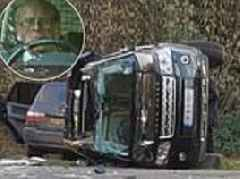 Prince Philip car crash: Duke of Edinburgh 'shaken' after collision