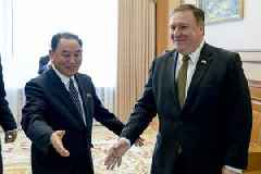Top North Korean Envoy Meets With Trump At White House For Nuclear Talks