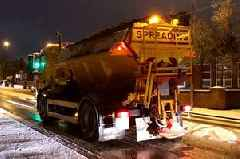 Motorists urged to check weather forecast before they travel after snow brings disruption to North Staffordshire's roads