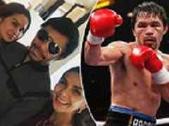 Manny Pacquiao suffers eye injury to put Floyd Mayweather fight at risk