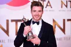 Bodyguard star Richard Madden wins TWO gongs at National Television Awards