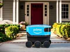 Amazon has revealed a new autonomous-delivery robot named 'Scout' (AMZN)