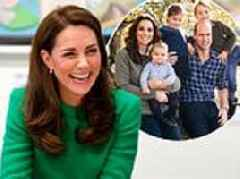 Kate Middleton reveals George and Charlotte love making art at home