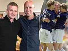 Jordi Cruyff insists Ole Gunnar Solskjaer is the perfect manager for Manchester United