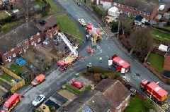 FULL police statement as two arrested over Stafford house fire which killed four children