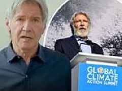 Harrison Ford warns of apocalyptic catastrophe unless action is taken against climate change now