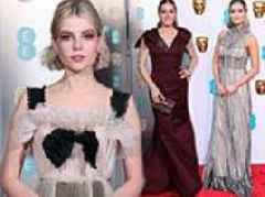 BAFTA 2019 red carpet: Amy Adams and Lucy Boyton lead the stars