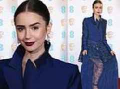BAFTA 2019 red carpet: Lily Collins turns heads in sheer lace skirt
